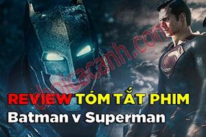 Review Phim: Batman đại chiến Superman