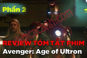 Review Phim: The Avenger - Đế Chế Ultron