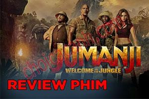Review Phim: Jumanji - Trò chơi kỳ ảo 2017