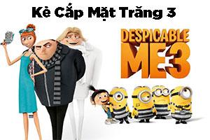 Review Phim Kẻ Cắp Mặt Trăng 3 - Despicable Me 3